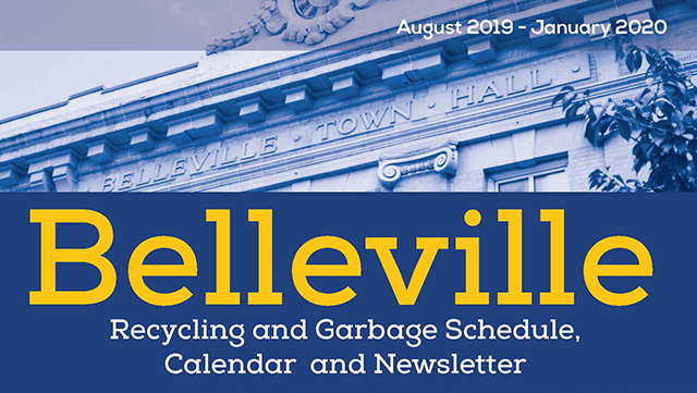 City Of Santa Clara January 2020 Calendar Garbage The Official Website of The Township of Belleville, NJ   Home